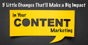 How all time content marketing is gaining charm! 1