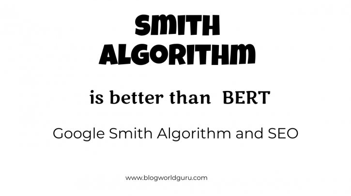 Google's Smith ALGORITHM AND SEO